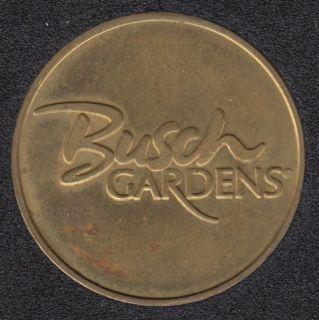 Arcade - Busch Garden's - Gaming Token