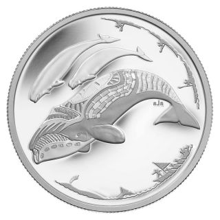 2013 - $3 - 1/4 oz. Fine Silver Coin - Life in the North