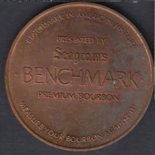 Seagram' Benchmark Premium Bourbon - Lewis & Clark Expedition 1804