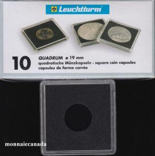 Capsules QUADRUM 19 MM