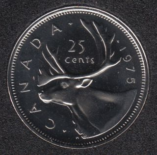 1975 - Proof Like - Canada 25 Cents