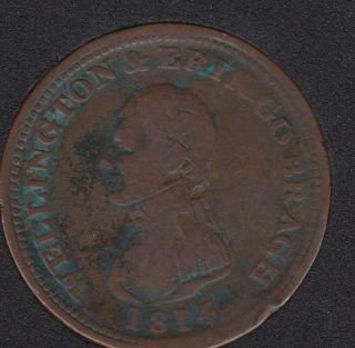 1814 - Wellington - Dublin Ireland - E. Stephens - Token