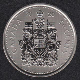 2020 - Specimen - Canada 50 Cents