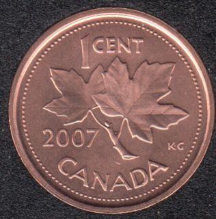 2007 - B.Unc - Non Mag. Canada Cent