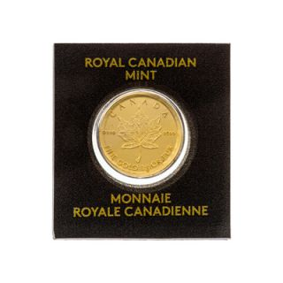 2015 - 1g - 50¢ Canadian Maple Leaf Gold Coin * PHONE ONLY *