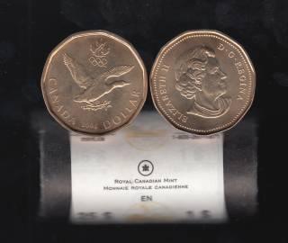 2006 Canada Roll $1 Dollar - Lucky Loonie - 25 Coins - UNC