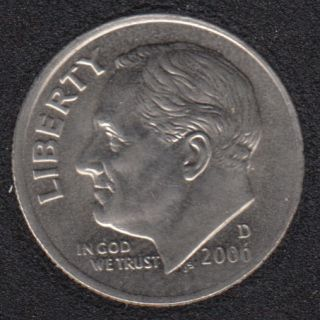 2006 D - Roosevelt - B.Unc - 10 Cents