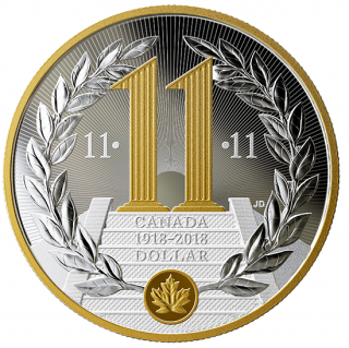 2018 - $1 - 2018 Special Edition Proof Silver Dollar - 100th Anniversary of the Armistice of the First World War