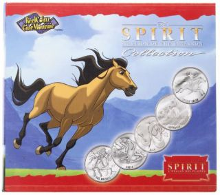 2002 Reelcoinz Collectibles - 5 Medallions & Stickers - The Spirit
