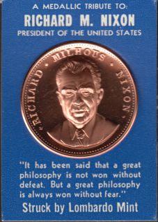Richard M. Nixon - President of the United States