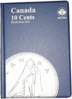 10¢ Canada Uni-Safe Album (Ten Cents) Blank