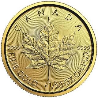 2017 - $1 - 1/20 oz Fine Gold 9999 - Gold Maple Leaf