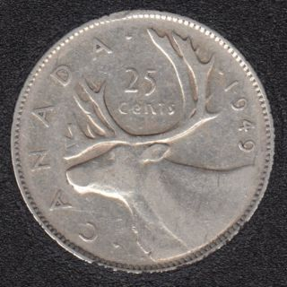 1949 - Canada 25 Cents