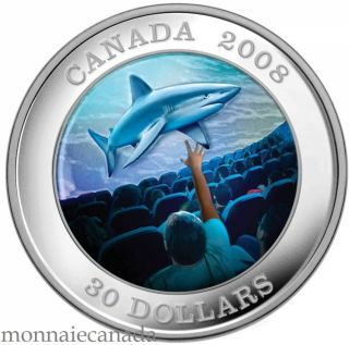 2008 - $30 - Sterling Silver Coin - IMAX