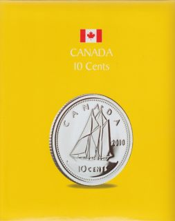 KASKADE Canadian Coin Albums - 10 Cents