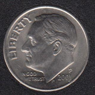2001 P - Roosevelt - B.Unc - 10 Cents