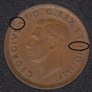 1944 - Break V I to Rim - Canada Cent