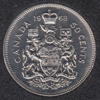 1968 - B.Unc - Canada 50 Cents