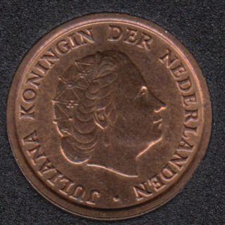 1960 - 1 Cent - B.Unc - Pays-Bas