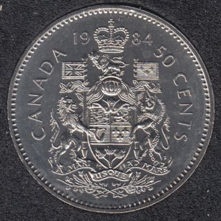 1984 - B.Unc - Canada 50 Cents