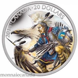 2014 - $20 - 1 oz. Fine Silver Coin - Legend of Nanaboozhoo