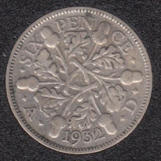 1932 - 6 Pence - Great Britain