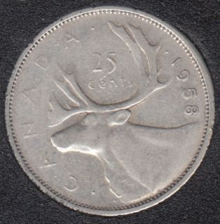 1958 - Canada 25 Cents