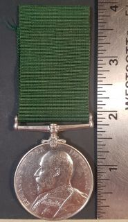 #1-255 For Long Service in the Volunteer Force Edward VII
