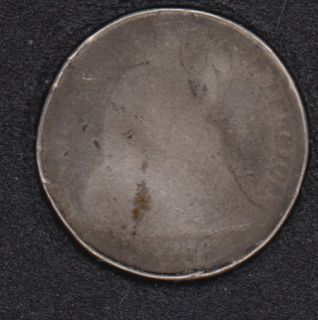 1876 CC - Liberty Seated - Endommagé - 10 Cents