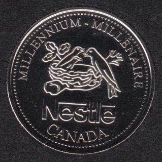 1999 - #913 NBU - Nestle Medaillon - Canada 25 Cents