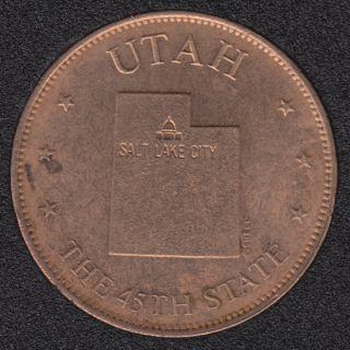Utah - The 45th State
