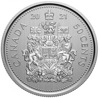 2021 - Specimen - Canada 50 Cents