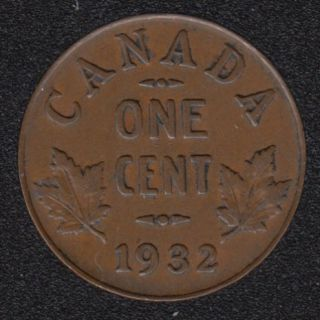 1932 - VF - Canada Cent