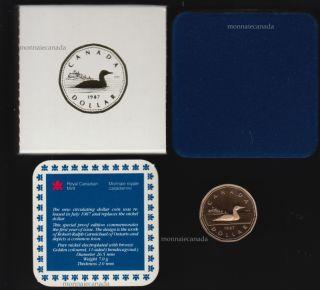 1987 - Huard Nickel Bronze Epreuve