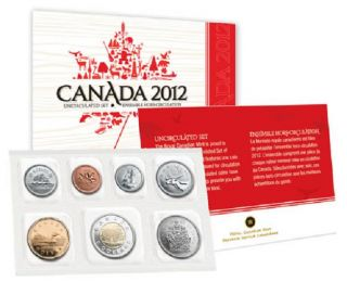 2012 - Uncirculated Set