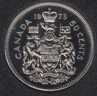 1973 - Proof Like - Canada 50 Cents