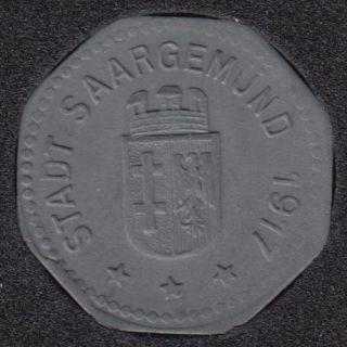 1917 - 5 Pfennig - War Coinage - Saargemund - Allemagne