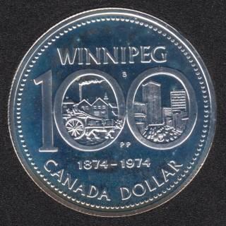 1974 - Specimen - Canada Silver Dollar