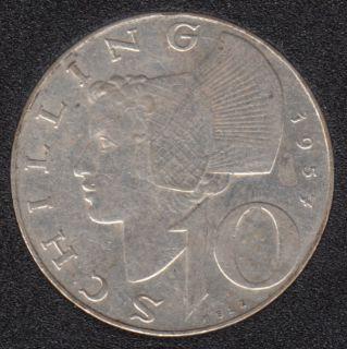 1957 - 10 Schilling - Autriche