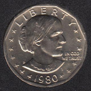 1980 P - Susan B. Anthony - Dollar