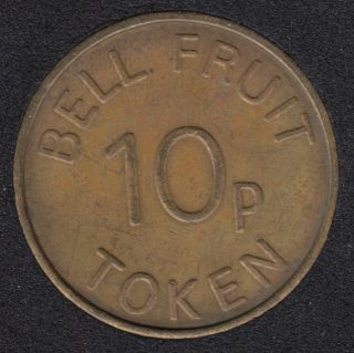 Play Money - Bell Fruit 10p Token - Nottinghamshire G.B.