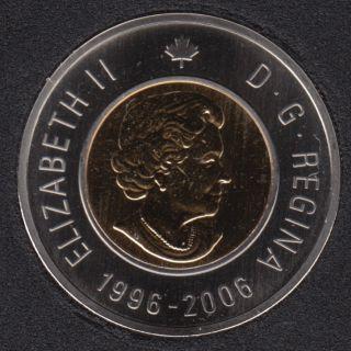 2006 - 1996 - Specimen - Bottom Date - Canada 2 Dollar