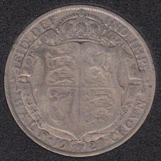 1927 - Half Crown - Grande Bretagne