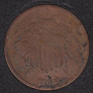 1866 - Shield - Two Cents
