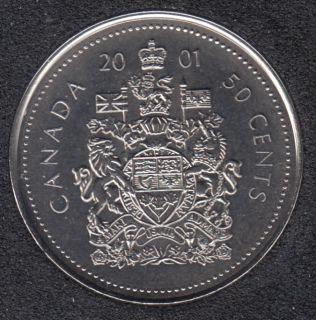 2001 P - NBU - Canada 50 Cents