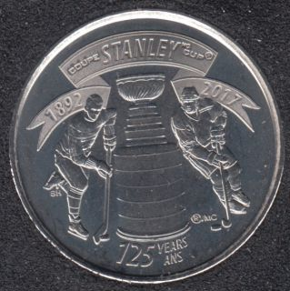 2017 - B.Unc - 125e Coupe Stanley - Canada 25 Cents