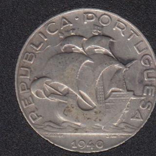 1940 - 2 1/2 Escudos - Portugal