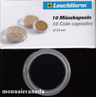 COIN CAPSULES 24 MM