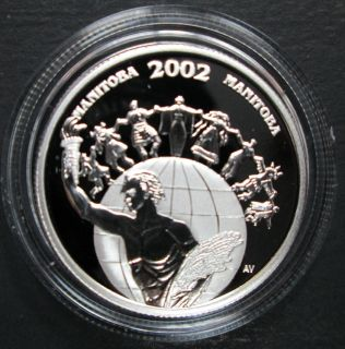 2002 Canada 50 Cents Sterling Silver - Folklorama - Manitoba
