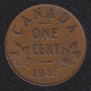 1935 - VF - Canada Cent